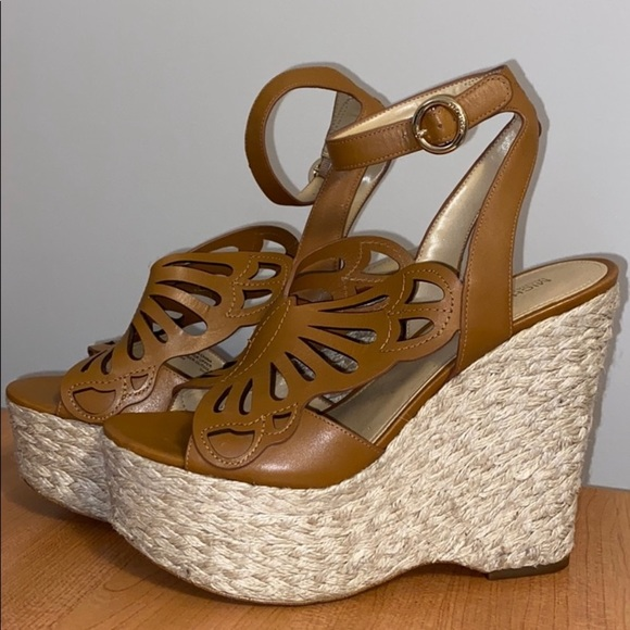 Michael Kors Shoes | Butterfly Wedge